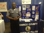 A member of the Henrico Police Department